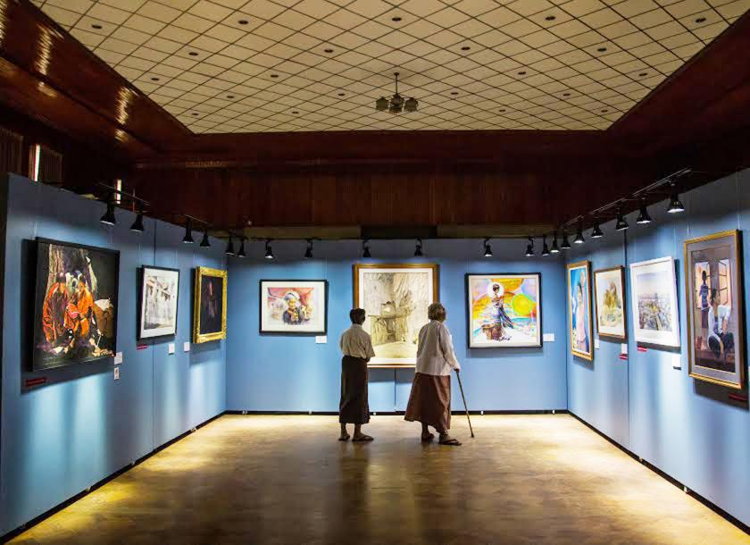 Myanmar contemporary art making up for lost time – ASEAN Digest
